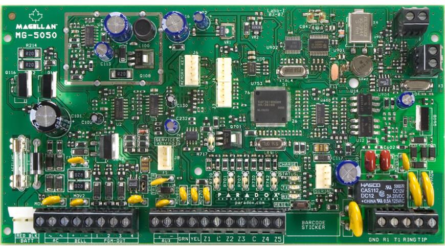 Paradox MG-5050/PCB