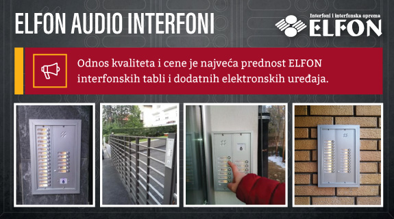 Elfon audio interfoni